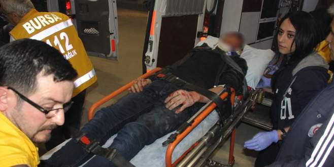 Bursa'da feci kaza: 5 yaralı