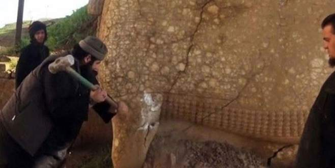 IŞİD şimdi de burayı yıkıyor!