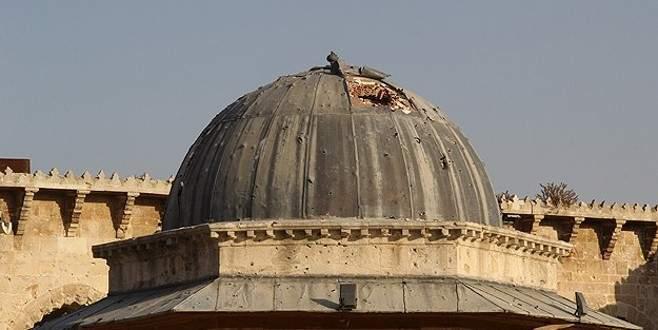 Osmanlı'dan kalma camiyi havaya uçurdular