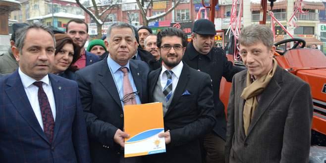 Oruç: AK Parti tarımda çağ atlattı