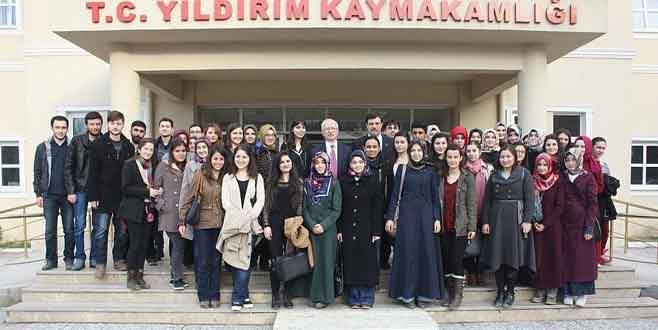 Uludağ Üniversitesi'nden Yıldrımlı öğrencilere destek