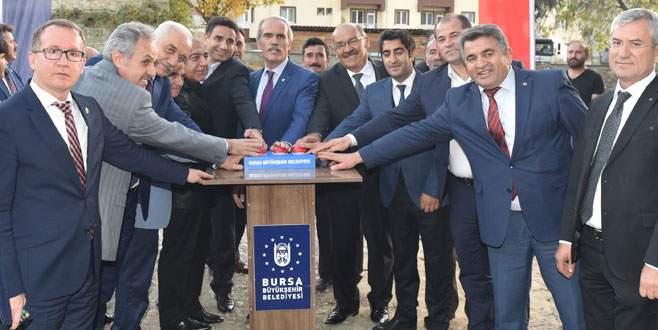 Harmancık'a 3 eğitim yuvası birden