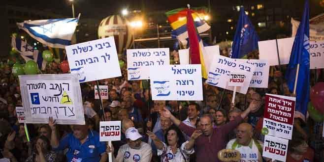 Netanyahu'yu istemiyorlar