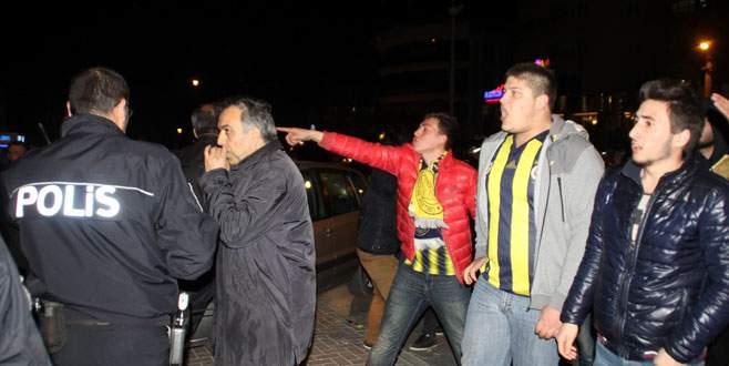 Bursa'da derbi sonrası gerginlik