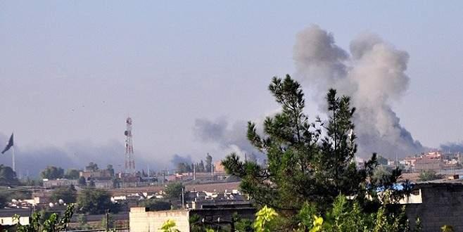 Koalisyon uçakları petrol rafinerisini bombaladı