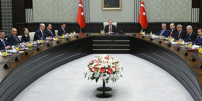 Cumhurbaşkanlığı Sarayı'nda 2. Bakanlar Kurulu toplantısı