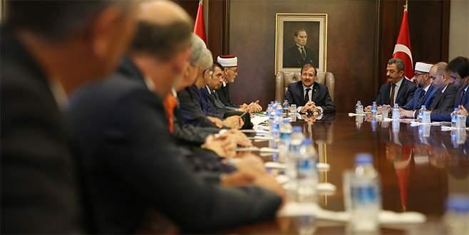Çavuşoğlu, Batı Trakya Danışma Kurulu yönetimini kabul etti