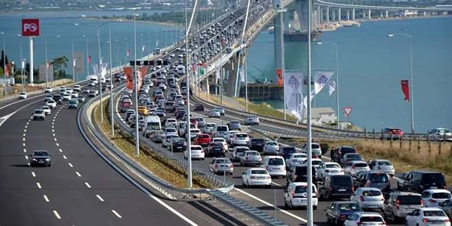 Osmangazi Köprüsü'nden günde 21 bin araç geçiyor