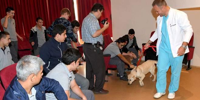 Öğrencilere hayvan sevgisi aşılanıyor