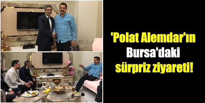 'Polat Alemdar'ın Bursa'daki sürpriz ziyareti!