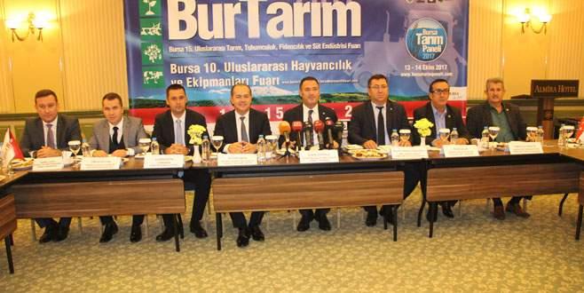 Bursa'da fuar bereketi