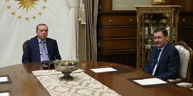 Erdoğan, Melih Gökçek ile görüştü
