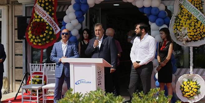Ertürk Motorlu Araçlar Bursa'ya şube açtı