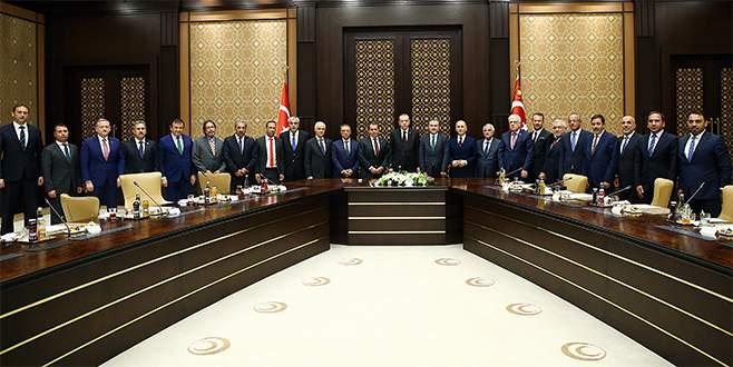 Başkanlar Erdoğan'a gitti