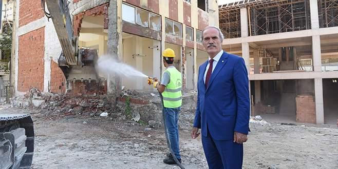 Okullar Büyükşehir desteğiyle yenileniyor