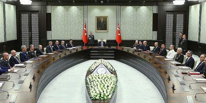 MGK Toplantısı yapıldı