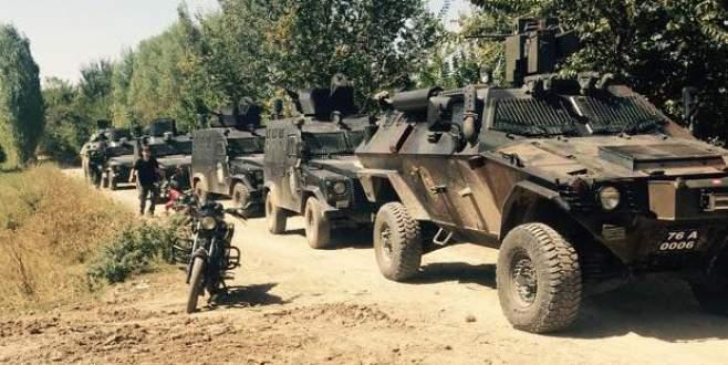 Polisi şehit eden PKK'lılar etkisiz hale getirildi