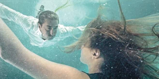 Su altında 15 saat