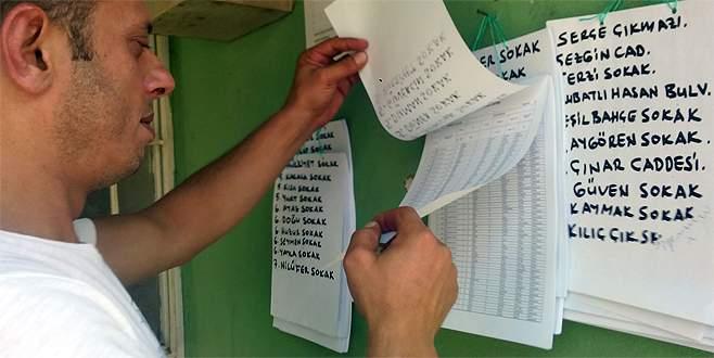 Seçmen listeleri askıya çıktı, Bursa ilgisiz