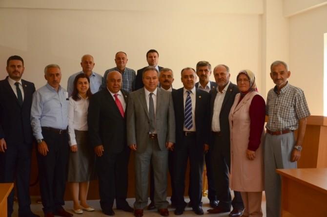 Vali Fidan Meclis Toplantısına Katıldı