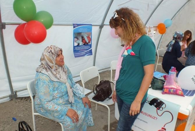Mardin'de Halk Sağlığı Çadırı Kuruldu