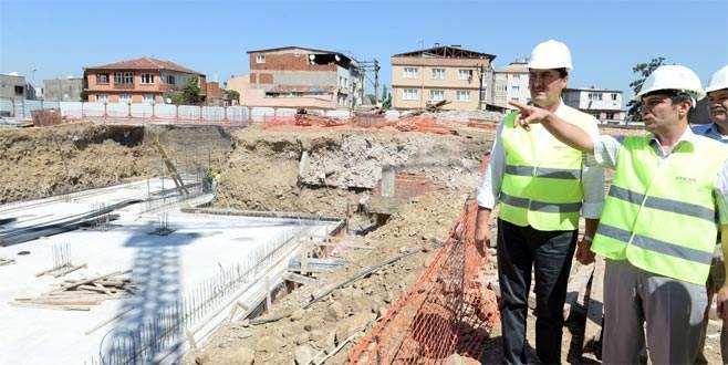 'Panorama Bursa'da inşaat başladı