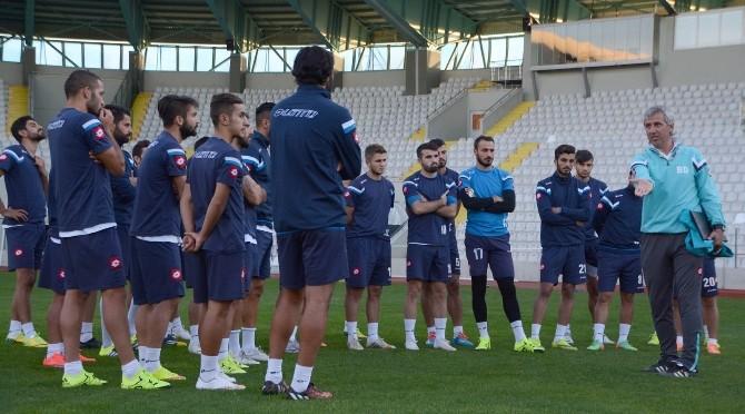 B.B. Erzurumspor, Cizrespor Maçı Hazırlıklarını Tamamladı