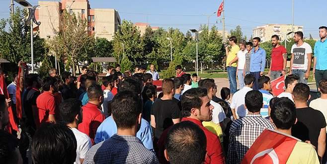 Mardin'de PKK'ya tepki yürüyüşü