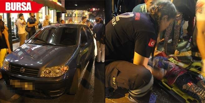 Suriyeli minik Sena dilenmek için araba peşinden koşuyordu...