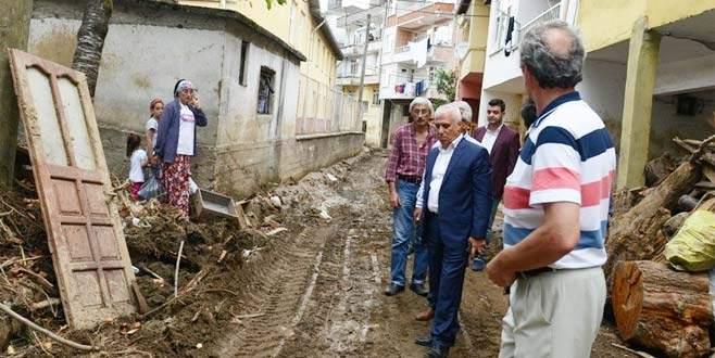 Nilüfer Belediyesi'nden Hopa'ya yardım eli
