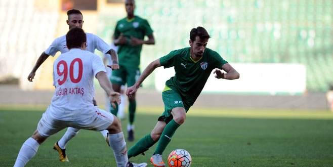 Bursaspor'dan 4 gollü galibiyet