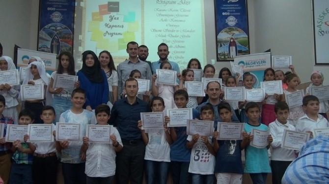 İbn-i Sina Bilgievi'nde Yaz Etkinlikleri Sona Erdi