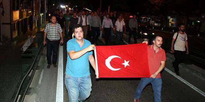 Dağlıca saldırısı Bursalıları sokağa döktü