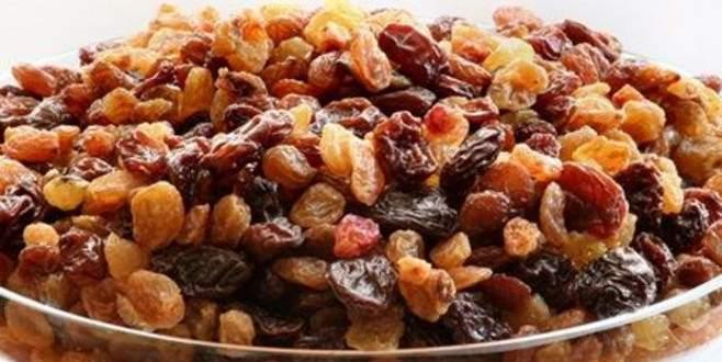 Çekirdeksiz kuru üzüm ihracatında rekor