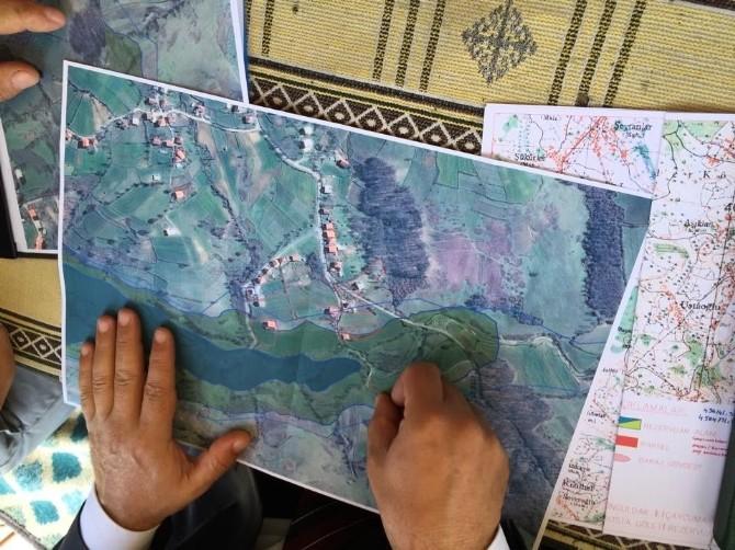 Köylüler Gölet İnşaatını Durdurdu
