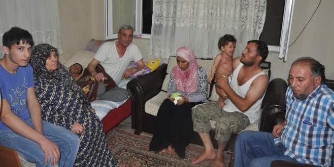 IŞİD'in bombasıyla yaralanan Suriyeli aile yardım bekliyor