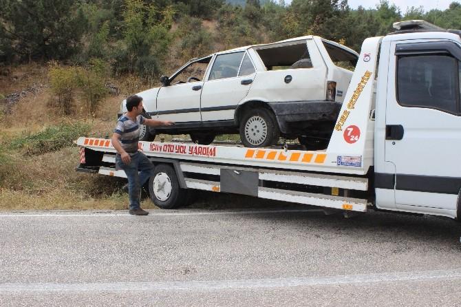 Gölpazarı'nda Trafik Kazası, 1 Yaralı