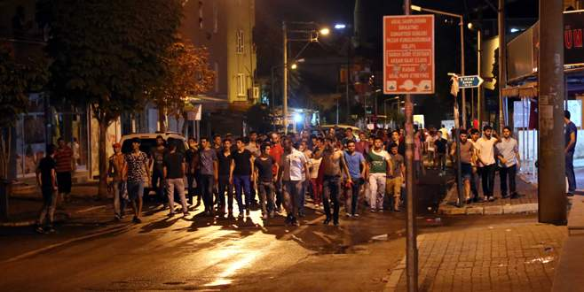 Bursa'da tehlikeli gerginlik!