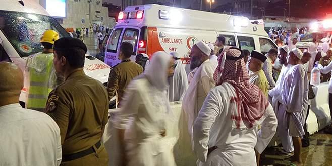 Kabe'de vinç faciası: 2'si Türk 107 ölü