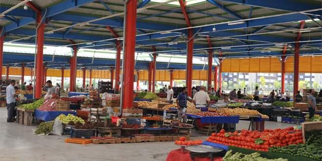 Kapalı pazar  yerleri örnek oluyor
