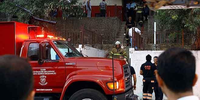 Polis lojmanında yangın: 3 yaralı