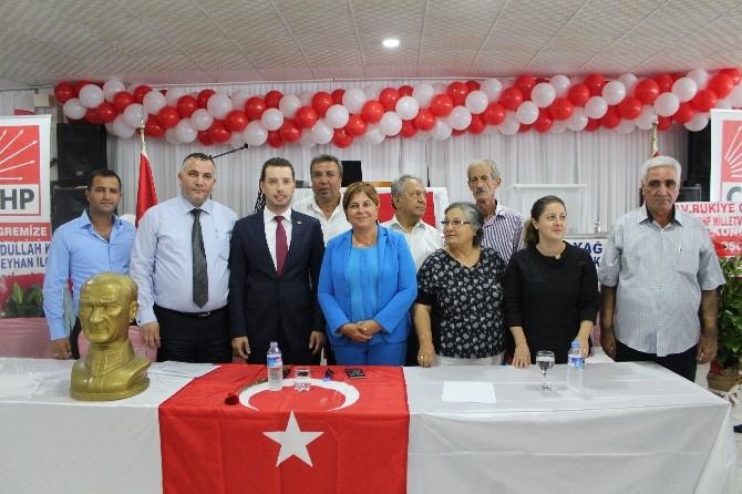 CHP Ceyhan İlçe Başkanlığına Kadir Aydar Yeniden Seçildi