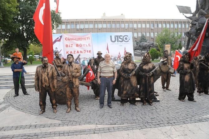 """""""Utso Fest"""" 82 Yıl Önceki Fotoğrafın Canlandırmasıyla Başladı"""