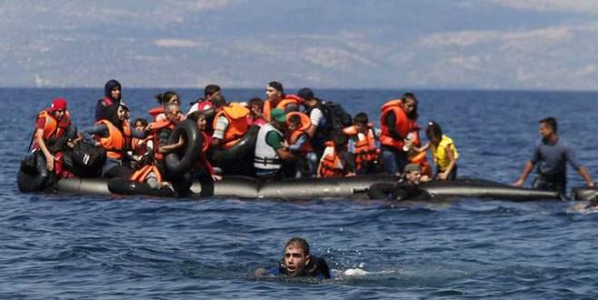 Ege'de kaçak teknesi battı: 15'i çocuk 34 ölü