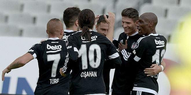 Beşiktaş, Mario Gomez'le güldü