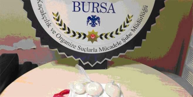 Bursa'da terminalde uyuşturucu operasyonu