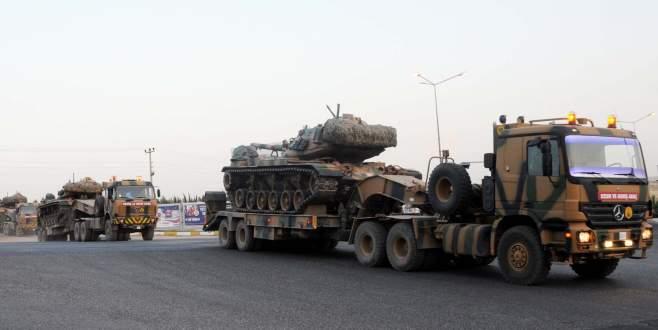 Tanklar ve zırhlı araçlar konuşlandırıldı!