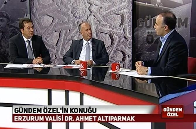"""Vali Altıparmak: """"Bölgenin Huzur Limanı Olan Erzurum'a Sahip Çıkmamız Lazım"""""""