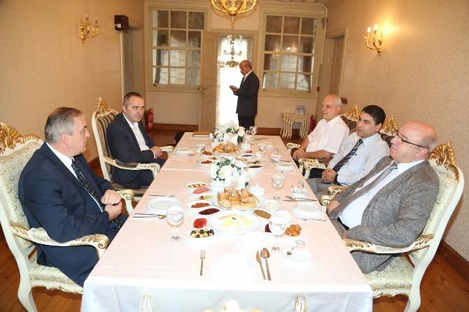 Başkan Aydın, Bedaş Genel Müdürü İslamoğlu'nu Ağırladı