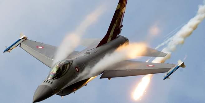 Savaş uçakları Kilis sınırında IŞİD'İ vuruyor